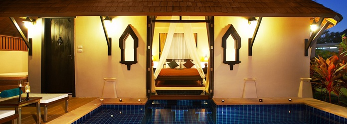 DIAMOND VILLA PRIVATE POOL Resort & Spa Lanta Cha-Da Beach Krabi
