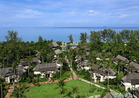 Vistas al mar Resort & Spa Lanta Cha-Da Beach Krabi