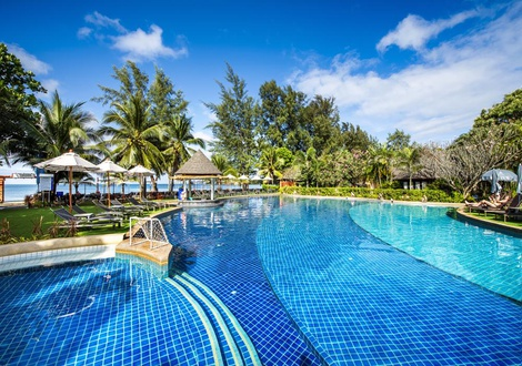 Swimming Pool Resort & Spa Lanta Cha-Da Beach Krabi