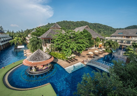 Piscina Lago Resort & Spa Lanta Cha-Da Beach Krabi